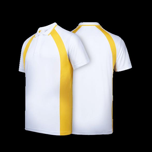 """""""Contrast"""" Bi Cross Polo T-Shirt"""