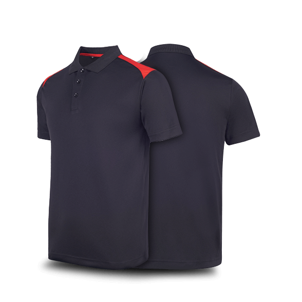 """""""Contrast"""" T-Max Polo T-Shirt"""