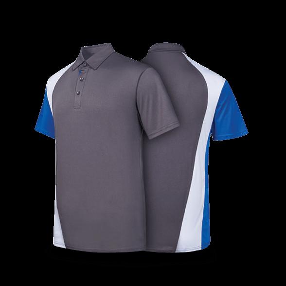 """""""Contrast"""" CS Sash Polo T-Shirt"""